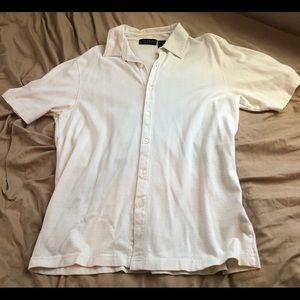 Men's crazy horse by Claiborne  shirt size large.